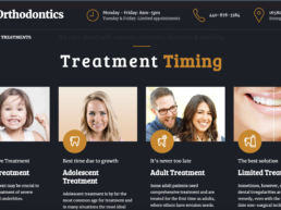 Kast Orthodontics Website